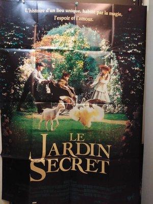 秘密花園-The Secret Garden (Le Jardin Secret) (1993)(摺式)原版法大版海報