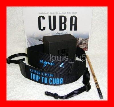 (時間的歌) 陳綺貞 agnes b. x Cheer Chen 背對哈瓦那【Trip to Cuba 限量相機背帶+ 宣傳卡+鉛筆】