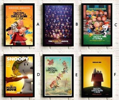 C - R - A - Z - Y - T - O - W - N  史奴比 掛畫 海報 電影 裝飾畫 設計 卡通 漫畫