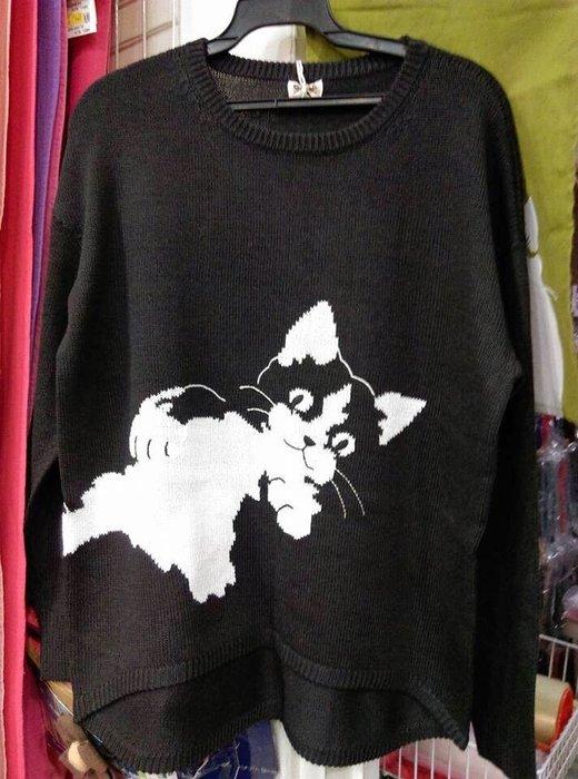 日本卡拉貓~大貓精緻質感毛衣
