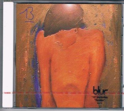 [鑫隆音樂]西洋CD-布勒合唱團Blur :13  [724349912922] 全新/免競標