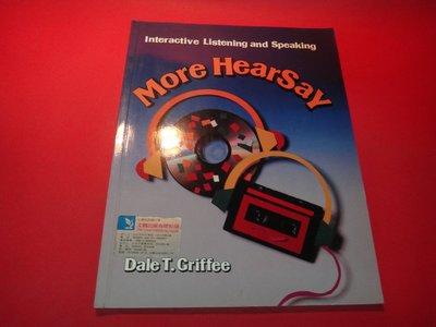 【愛悅二手書坊 12-45】More Hearsay:Interactive Listening and -