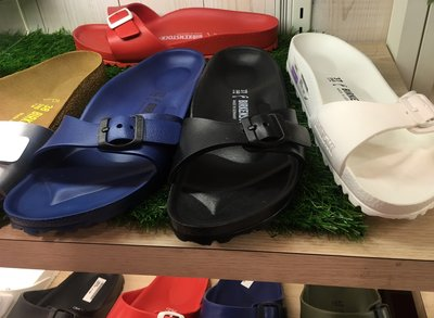 新品正品  BIRKENSTOCK ARIZONA EVA 防水橡膠 女生勃肯拖鞋0129443白色 012942 新北市