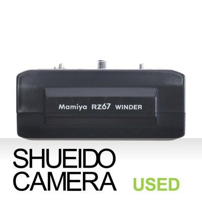 集英堂写真機【1個月保固】實用品 / MAMIYA RZ67 6X7 PRO  WINDER 電動捲片馬達 12159