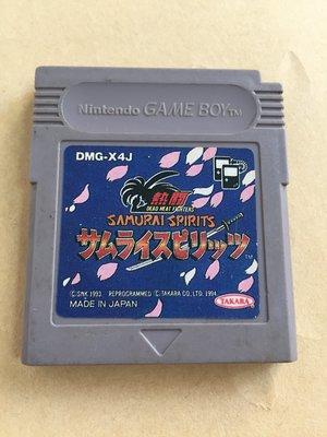 任天堂 Game Boy  ~~  侍魂  Samurai Spirits   ~~日本製