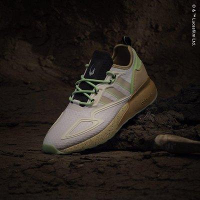 【吉米.tw】Adidas originals ZX 2K BOOST Star Wars 泥角獸 GZ2760 NOV
