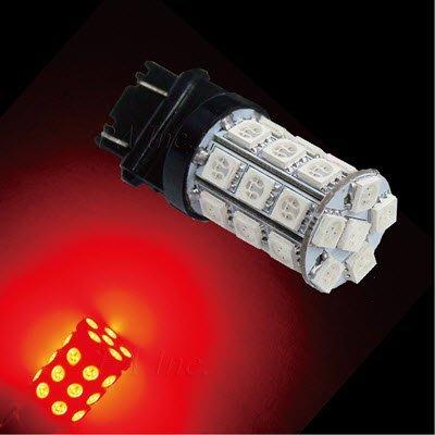 【PA LED】3157 美規 雙芯 30晶 90晶體 SMD LED 紅光 煞車燈 尾燈 後燈 尺寸小 晶片多