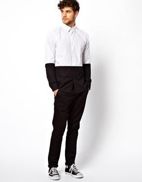 Smart Shirt in Long Sleeve with Cut And Sew 歐美進口品牌 現貨+預購