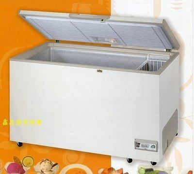 鑫忠廚房設備-餐飲設備:全新RS系列3.3尺上掀式冷凍櫃-賣場有工作臺-水槽-西餐爐-烤箱