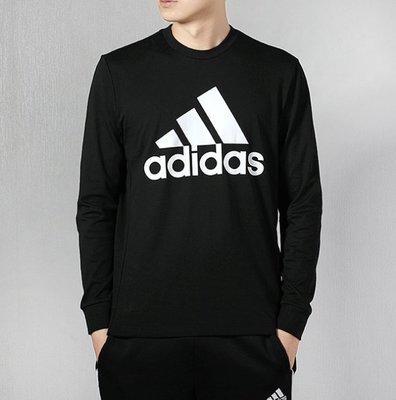 YJP& Adidas圓領長袖 運動上衣 打底衫 男款長袖EB5266