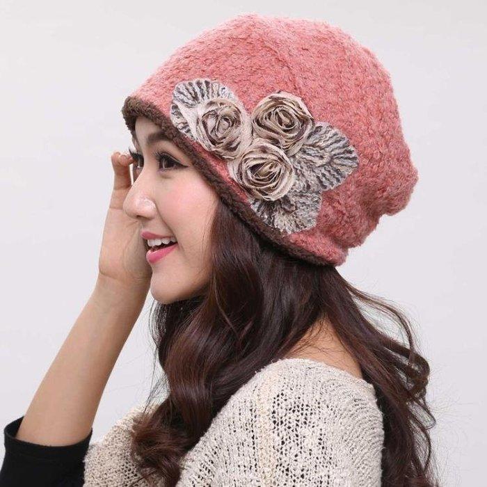 月子帽 帽子女秋冬時尚包頭帽休閒百搭套頭帽孕婦產后加絨月子帽保暖棉帽