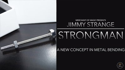【天天魔法】【S586】(現貨)正宗原廠~力王~附獨家中文筆記~Strong Man by Jimmy Strange