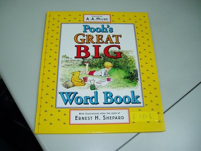 E1806-DUTTON-Pooh's GREAT BIG Word Book---H2