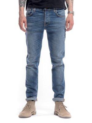 (現貨) NUDIE GRIM TIM BEST COAST BLUES 淺藍 刷白 合身 牛仔 丹寧 長褲 牛仔褲