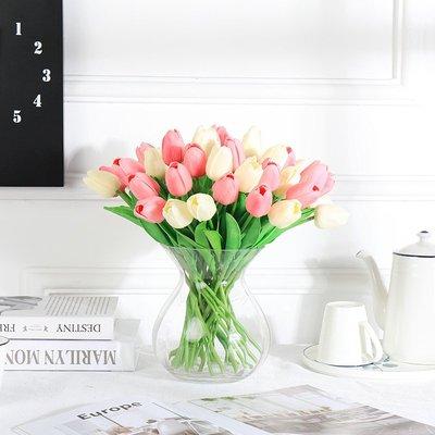 *量多優惠*仿真植物仿真花鬱金香 假花塑料花裝飾花客廳 乾花臥室餐桌擺設花卉莊園(單支賣不含花瓶)     奈櫻?雜貨鋪9512