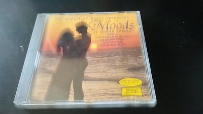 CD﹣﹣MOODS.THE MOONLIGHT MOODS ORCHSTRA / 瑞典版