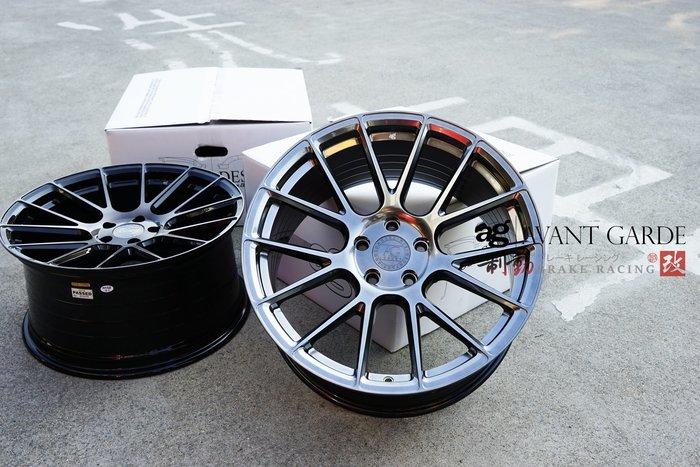 Avant Garde LUXURY - VANQUISH AG精緻鋁圈 旋壓輕量化 放射多幅精緻鋁圈 / 制動改