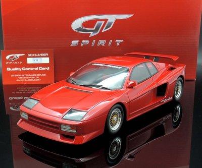 【MASH】現貨特價 GT Spirit 1/18 Koenig  Ferrari Testarossa red