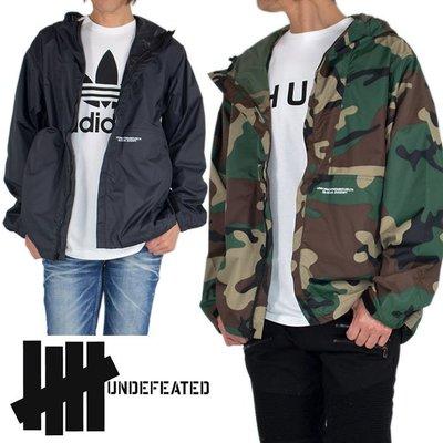 Cover Taiwan 官方直營 Undefeated 風衣外套 連帽外套 嘻哈 復古 迷彩 黑色 迷彩外套 (預購)