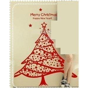小妮子的家@聖誕裙壁貼/牆貼/玻璃貼/磁磚貼/汽車貼/家具貼