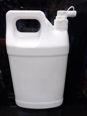 現貨 附分裝頭 台灣製造  HDPE2號 4公升 4L 1加侖 塑膠罐 塑膠瓶 塑膠桶