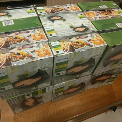 PHILIPS 飛利浦 氣炸鍋煎魚盤煎烤盤 無彩盒HD9940 適用