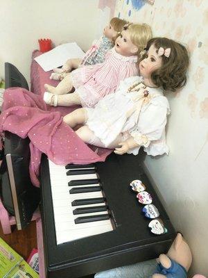 二手yamaha電鋼琴p60日本製 88GH鍵盤,新竹自取(不含圖上娃娃)