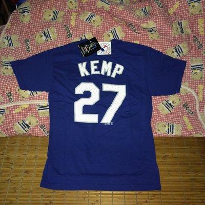 MLB Majestic Matt Kemp Hi-Definition 道奇 洋基 背號 T恤 偉殷 岱鋼 王健民 陳金鋒