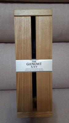 木頭禮盒 GLENLIVET格蘭利威 威士忌