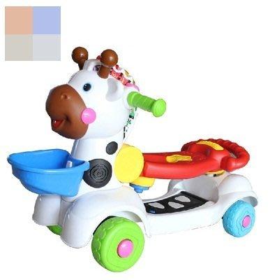 baby ride-on deer (3-in-1)趣味多功能小鹿助步車  紅/藍  (升級版)