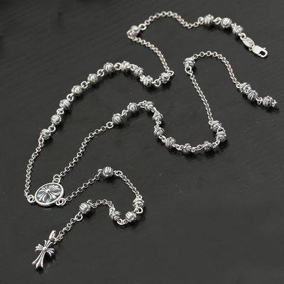 賓士印象~新款s925純銀創意搭配女款流蘇項鍊簡約時尚大氣百搭毛衣鍊包郵