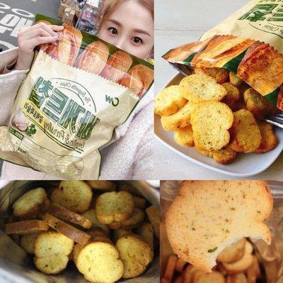 快閃價 韓國 CW 奶油香蒜麵包餅乾 /大蒜麵包餅乾400g