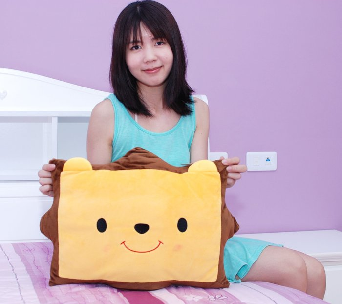 娃娃夢幻樂園~可愛獅子造型枕頭~寬46公分~獅子抱枕/獅子午睡枕~午安枕~生日禮物~全省宅配