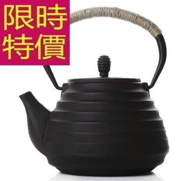 日本鐵壺-品茗南部鐵器水甘潤必備茶壺63f18[日本進口][米蘭精品]