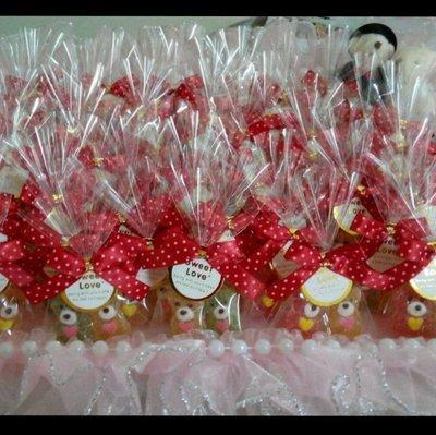 @妮妮喜糖店鋪@婚禮小物~金莎花棒~麥芽餅~喜糖~送客禮~小朋友慶生~寶貝熊軟糖糖包
