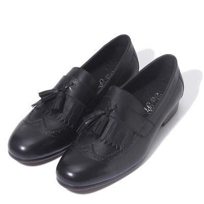 懶人鞋 真皮雕花休閒鞋-復古流蘇套腳做舊男鞋子4色73kv81[獨家進口][米蘭精品]