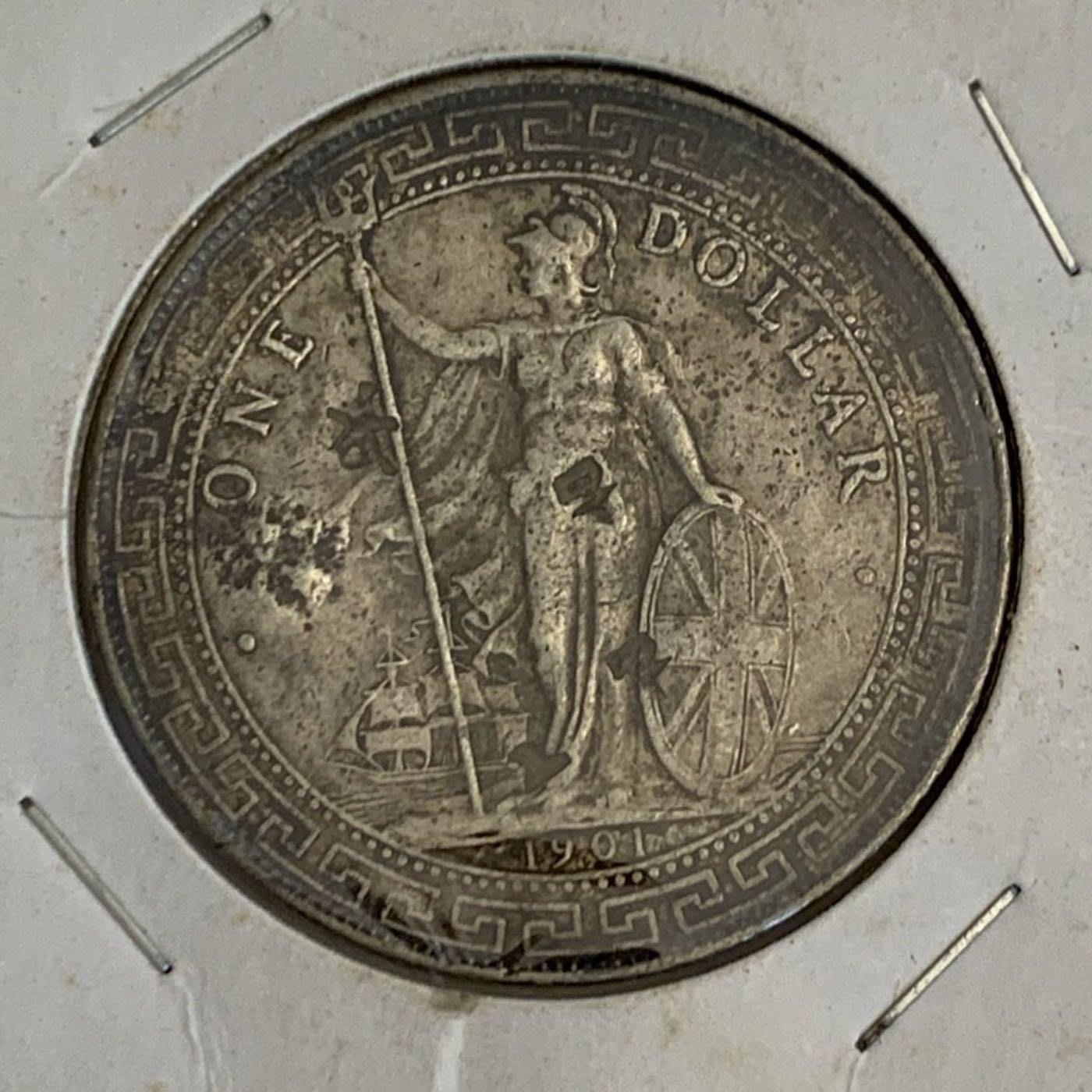 香港貿易銀1901站洋(打戳版)