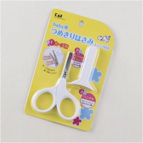 【東京速購】日本製 KAI 貝印 嬰兒指甲剪 (剪刀型)