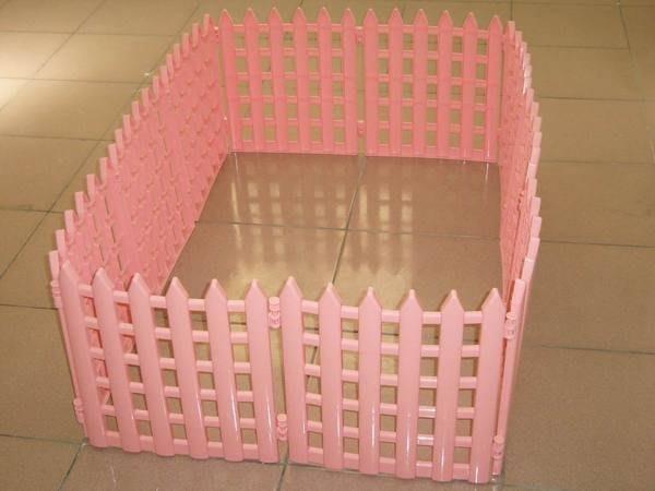 ~e世代~皇冠寵物專用摺疊式小圍欄圍片/狗貓鼠兔柵欄/粉紅藍紫色可延伸組合~十片