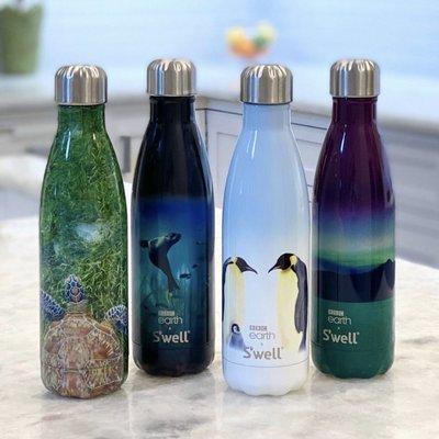 S'well 不鏽鋼保溫瓶 水瓶 水壺 隨手瓶 500ml 珍愛地球系列 Swell