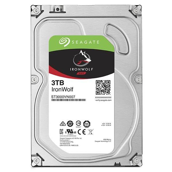 【易霖-硬碟】Seagate那嘶狼IronWolf 3TB 3.5吋 NAS專用硬碟 (ST3000VN007)
