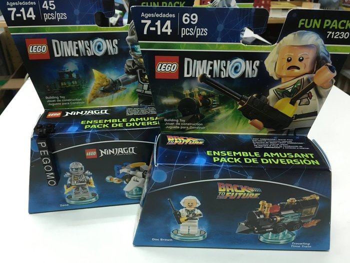 【痞哥毛】LEGO 樂高 71230 Dimensions 回到未來 博士 全新未拆