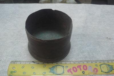 藍色小館30----------早期銅彈煙灰缸