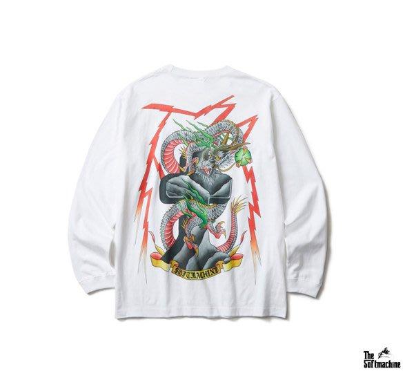 GOODFORIT / 日本Softmachine THUNDER BOLT雷電降龍主題長袖上衣/兩色