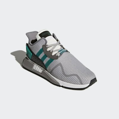 # ADIDAS EQUIPMENT EQT Cushion ADV 灰綠 休閒 慢跑鞋 男款 AH2232 YTS