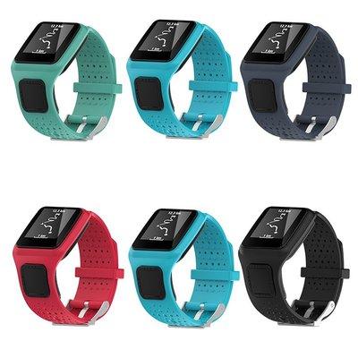 丁丁 TomTom Multi-Sport Runner 一代 1代 運動手錶替換錶帶 運動矽膠防摔腕帶