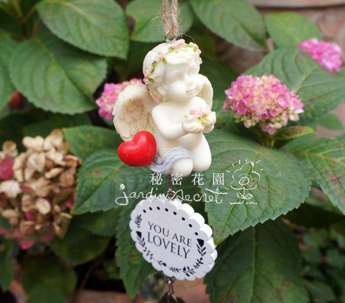 可愛小天使造型風鈴/吊飾--秘密花園