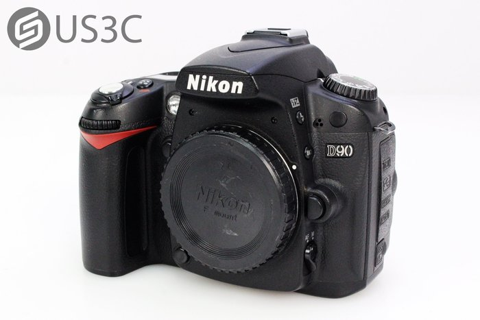 【US3C】尼康 Nikon D90 單機身 單眼相機 1230萬畫素 快門28571次 二手單眼相機