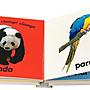 英文原版繪本 DK Wild Animals 野生動物 觸摸紙板書 3-6歲兒童學習英語啟蒙輔導訓練故事圖畫書籍親子閱讀正版進口圖書