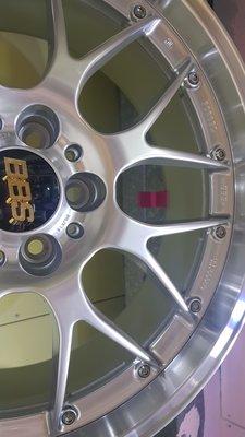 保證正品BBS 鍛造鋁圈 5X112 賓士RSGT 19吋前後配AUDI  8.5J et35 9.5J et42